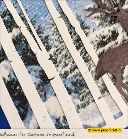 Silhouette Cameo snijbestand Bomen en Herten