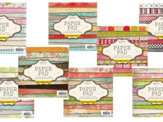 Paper Pads van Studio Light Januari 2015