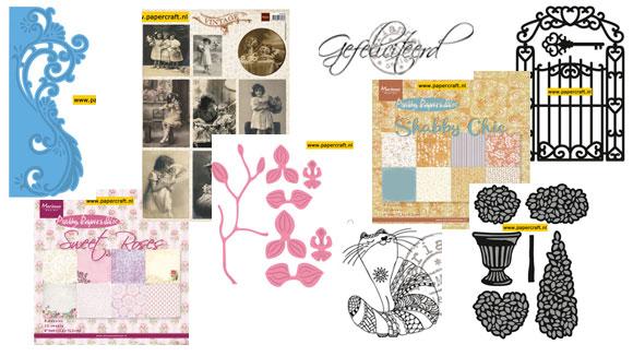 Nieuwe producten Marianne Design Februari 2015