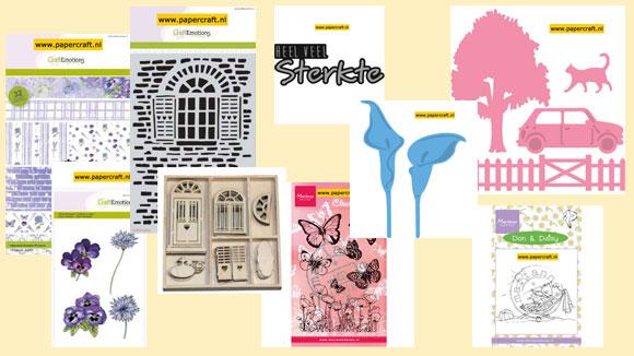 Nieuwe Producten van Marianne Design en CraftEmotions