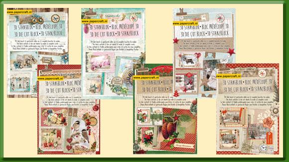 Stansblokken voor Kerst van Studio Light