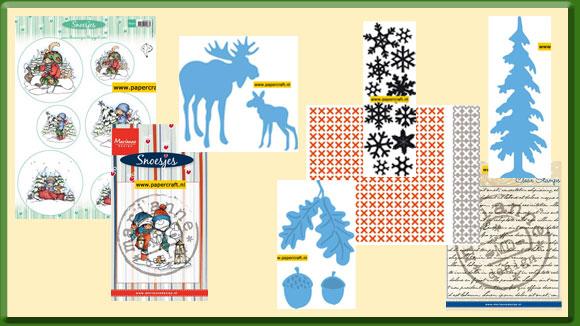 Marianne Design Nieuwe Producten Herfst en Winter