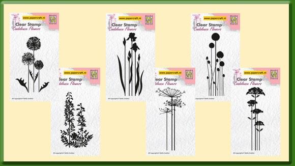 Stempels Bloemen van Nellie Snellen