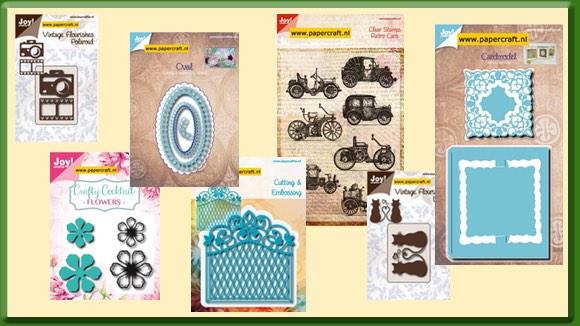 Nieuwe Stansmallen en Stempels van Joy! Crafts