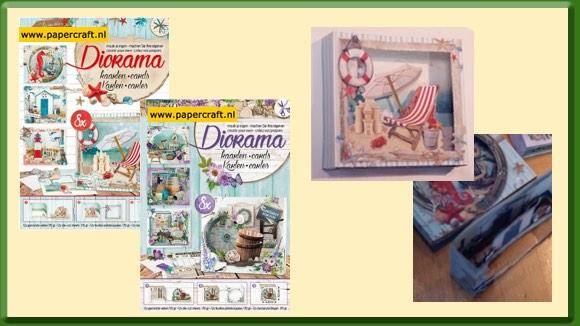 Diorama kaarten van Studio Light Doorijk kaarten