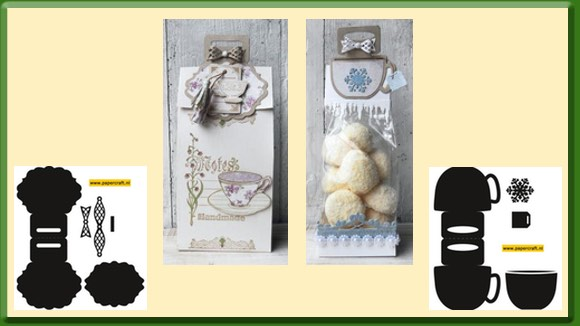 Geschenkzakjes Marianne Design Bag Topper