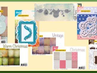 Joy! Crafs Kerstpapier en Mallen