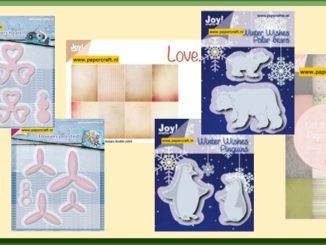 Joy Crafts Stansmallen en Papier