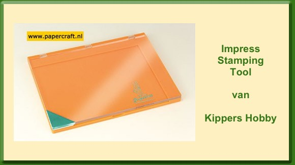 Kippers Hobby Impress Stamping Tool
