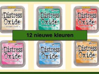 Tim Holtz Distress Oxide Stempelinkt nieuwe kleueren