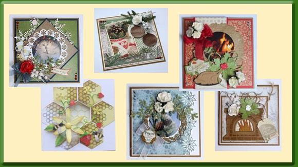 Voorbeeldkaarten Joy! Crafts Producten Augustus 2017