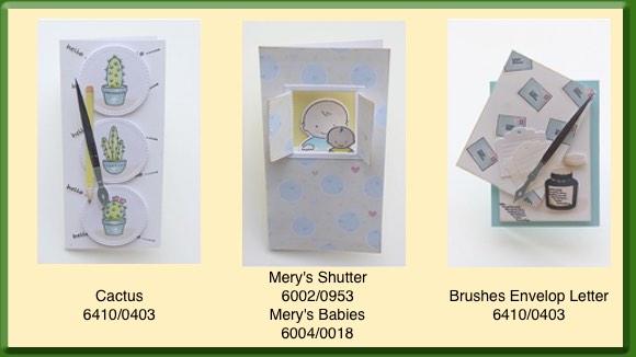 Mery's Voorbeeldkaarten September 2017