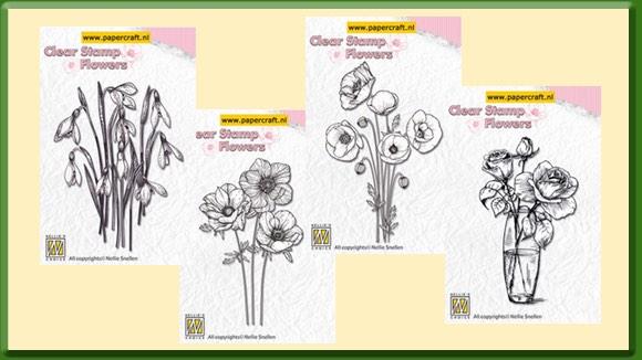 Nellie Snellen Stempels Bloemen