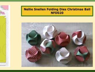 Nellie Snellen Kerstbal NFD020 Christmas Ball