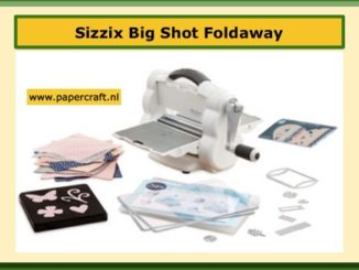 Sizzix Big Shot Foldaway Inklapbare Big Shot