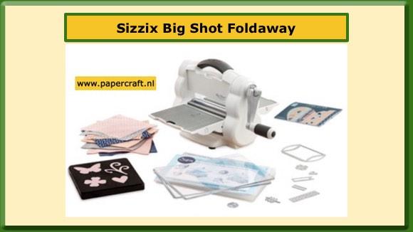 Sizzix Big Shot Foldaway Inklapbare Big Shot