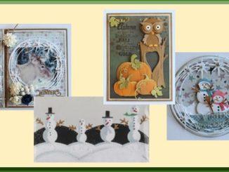 Joy! Crafts Voorbeeldkaarten Kerst en Herfst