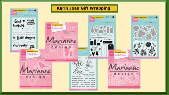Karin Joan Gift Wrapping Stempels en Mallen