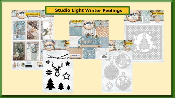 Studio Light Winter Feelings Mallen Stempels Stansvellen