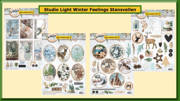 Studio Light Stansvellen uit de collectie Winter Feelings