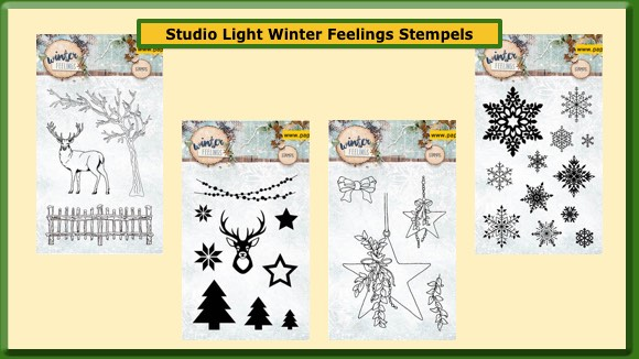 Studio Light Stempels Winter Feelings