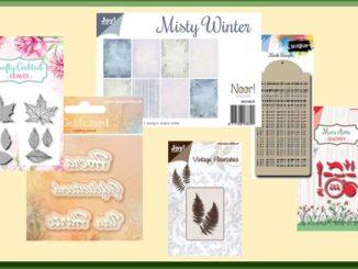 Noor! Design Mon Ami Snow Stansmal van Joy! Crafts