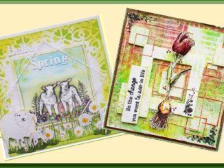 CraftEmotions Voorbeeldkaarten Voorjaar