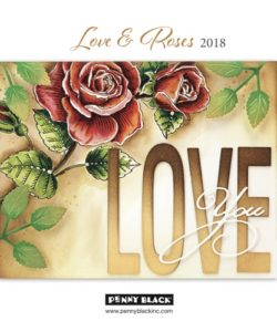 Penny Black Catalogus Love & Roses