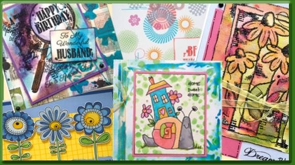 Woodware Craft Voorbeeldkaarten Stempels