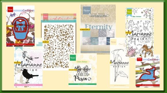 Marianne Design Maart Producten