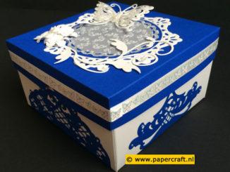 Vierkante doos
