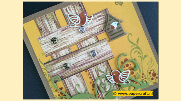 Vintage Wood Papier blok van Joy! Crafts