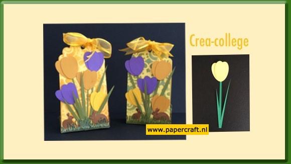 Gratis patroon voor maken van Tulp