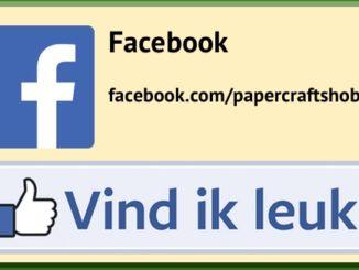 Volg PaperCraft's Hobby Hattem op Facebook