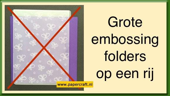 Grotere Embossing Folders