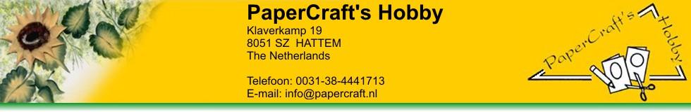 Hobbywinkel PaperCraft's Hobby Hattem